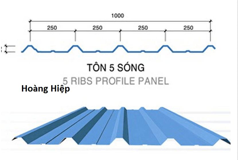 Hướng dẫn thi công lợp mái tôn 5 sóng vuông